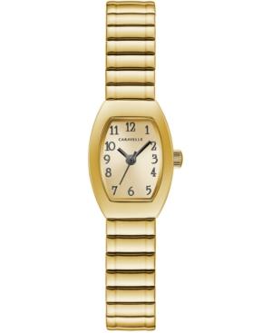 Women's Gold-Tone Expansion Bracelet Watch 18x25mm
