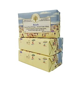 Beach Soap with Pack of 3, Each 7 oz