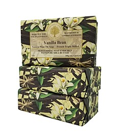 Vanilla Bean Soap with Pack of 3, Each 7 oz