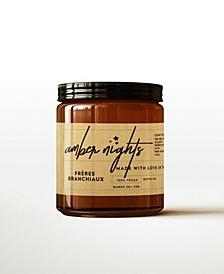 Amber Nights Candle, 4 oz