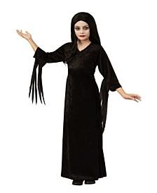 Big Girl The Addams Family Morticia Child Costume