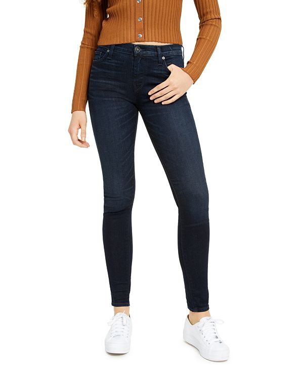Hudson Jeans Mid-Rise Skinny Jeans