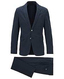BOSS Men's BOSS Men's Hanry/BarlowDark Blue Suit