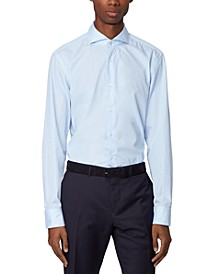 BOSS Men's Jemerson Pastel Blue Shirt