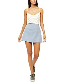 Days In The Sun Suede Mini Skirt
