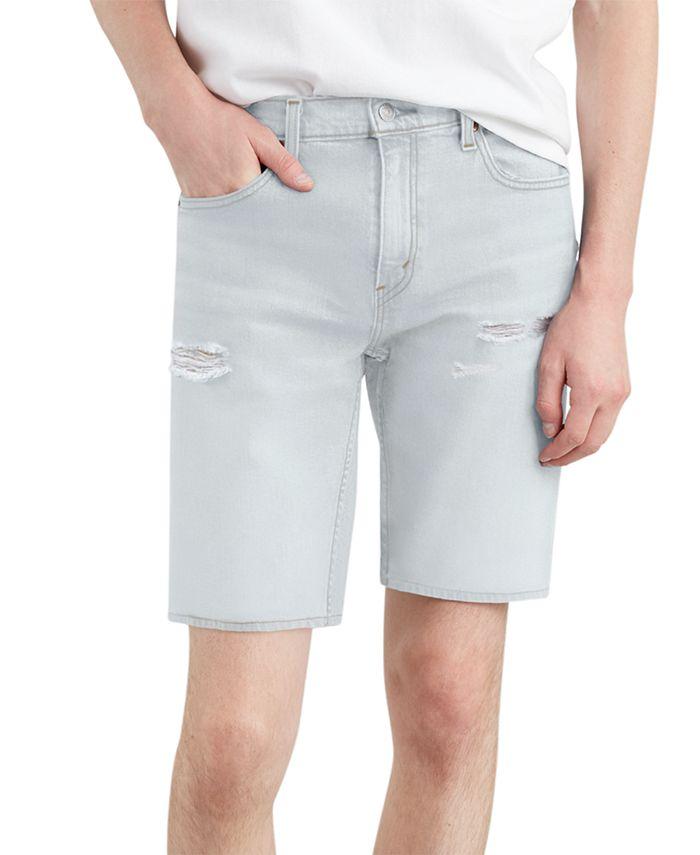"Levi's - Men's 502 Classic-Fit Tapered Stretch Denim 10"" Shorts"