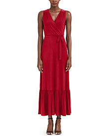I.N.C. Plus Size Wrap Style Maxi Dress, Created for Macy's