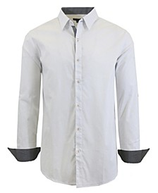 Men's Long Sleeve Stretch Dress Shirts