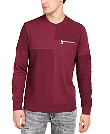 INC Men's Pattern-Blocked Sweatshirt, Created for Macy's
