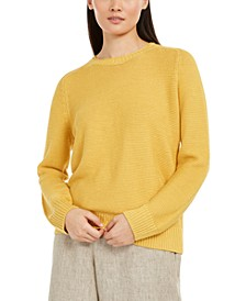 Crewneck Knit Sweater, Regular & Petite Sizes