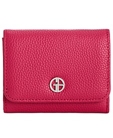 Softy Leather Trifold Wallet, Created for Macy's