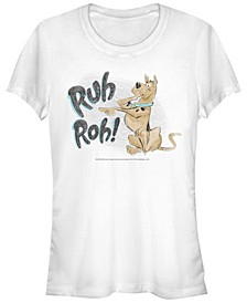 Scooby-Doo Ruh Roh Sketch Women's Short Sleeve T-Shirt