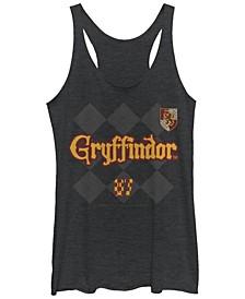 Harry Potter Gryffindor Pride Tri-Blend Women's Racerback Tank