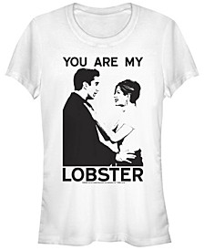 Friends Ross And Rachel You Are My Lobster Portrait Women's Short Sleeve T-Shirt