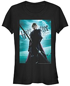Harry Potter Ron Quidditch Poster Women's Short Sleeve T-Shirt