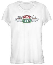 Friends Central Perk Coffee Mug Logo Women's Short Sleeve T-Shirt