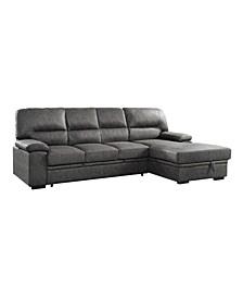 Carolina 2-pc Sectional Sofa