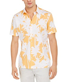 INC Men's Kai Tropical Print Shirt, Created for Macy's