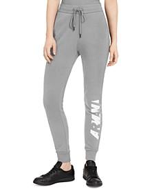 Cotton Logo-Graphic Jogger Pants