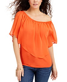Triple Threat Off-The-Shoulder Top, Created for Macy's