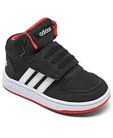 Toddler Boys' Hoops 2.0 Mid Top Casual Sneakers from Finish Line