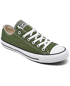 Men's Chuck Taylor All Star Low Top Casual Sneakers from Finish Line