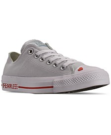 Women's Chuck Taylor Ox Love Fearlessly Casual Sneakers from Finish Line