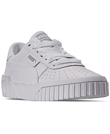 Big Girls' Cali Casual Sneakers from Finish Line