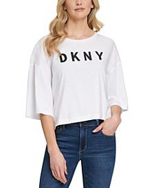 Elbow-Sleeve T-Shirt