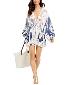 Tie-Dye Tunic Swim Cover-Up