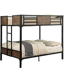 Remiro Metal Full Over Full Bunk Bed