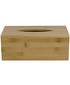 HDS TRADING CORP Rectangle Bamboo Tissue Box Cover