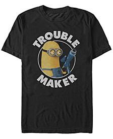 Minions Men's Kevin Trouble Maker Short Sleeve T-Shirt