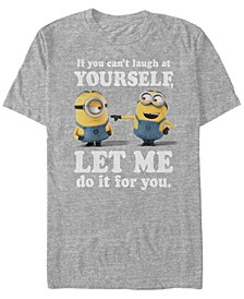 Minions Men's Laugh At Yourself Short Sleeve T-Shirt
