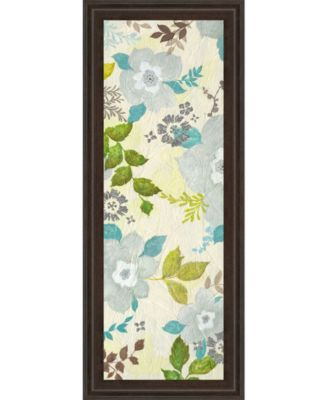 Fragrant Garden Il by Tava Studios Framed Print Wall Art - 18