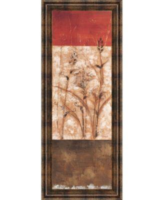 Fresco I by Loretta Linza Framed Print Wall Art - 18