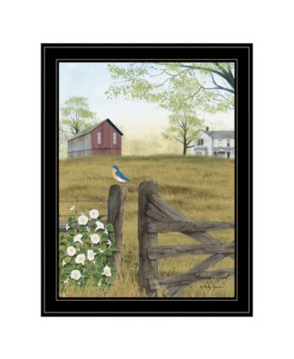 Morning's Glory by Billy Jacobs, Ready to hang Framed Print, White Frame, 21