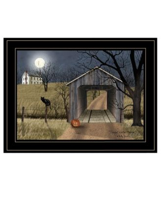 Sleepy Hollow Bridge by Billy Jacobs, Ready to hang Framed Print, White Frame, 19