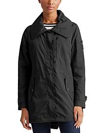 Petite Hooded Anorak Coat