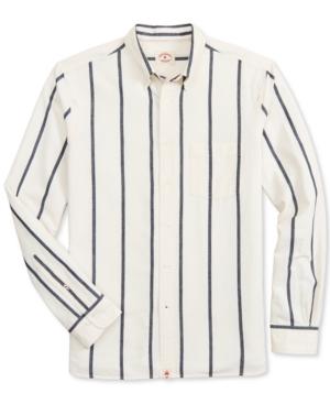 Brooks Brothers Men's Indigo Yarn-Dye Striped Shirt, Created for Macy's