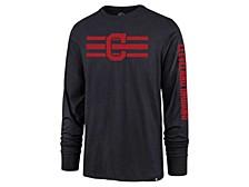 Cleveland Indians Men's Cross Stripe Long Sleeve T-Shirt
