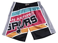 San Antonio Spurs Men's Big Face Shorts