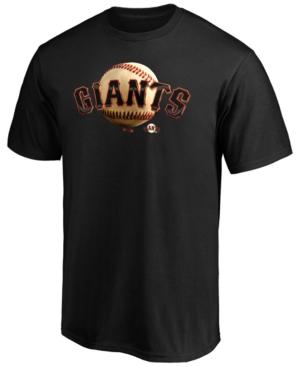 San Francisco Giants Men's Midnight Mascot T-Shirt