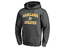 Oakland Athletics Men's Rookie Heart & Soul Hoodie