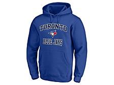 Toronto Blue Jays Men's Rookie Heart & Soul Hoodie
