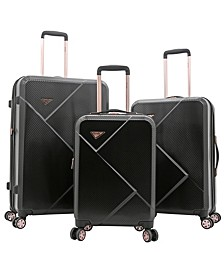3-Pc. Grace Expandable Hardside Luggage Set