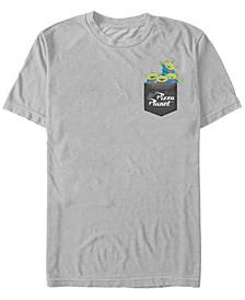Toy Story Men's Pizza Planet Aliens Left Chest Short Sleeve T-Shirt