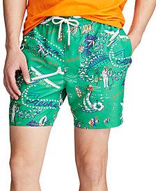 """Polo Ralph Lauren Men's 5.5"""" Inch Traveler Swim Trunks"""