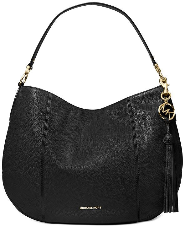 Michael Kors Brooke Large Zip Leather Hobo