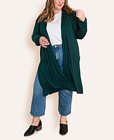 Women's Plus Size Super Soft Duster